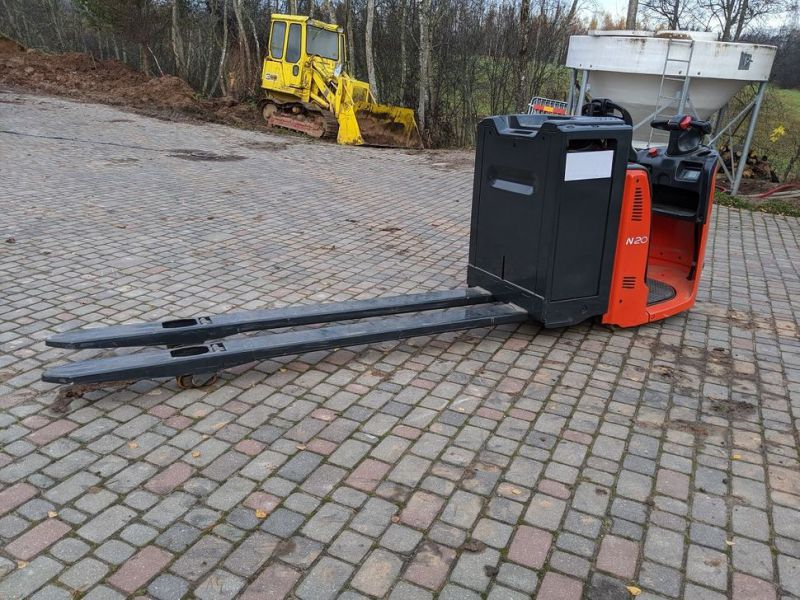 Linde N20/ Electric pallet forks for 2 pallets with charger - 5