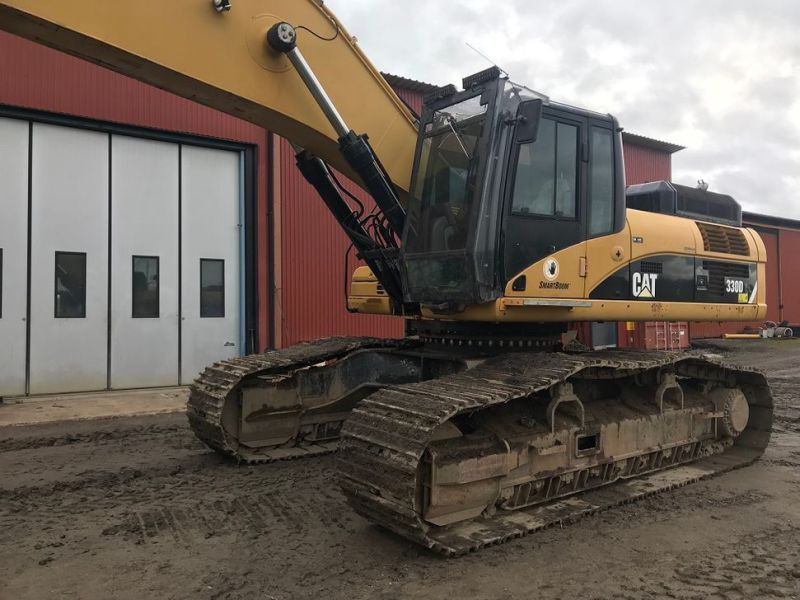 Cat 330 D  long reach  - 7