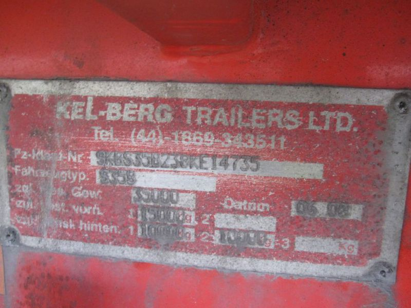Kelberg City Køletrailer 2 akslet / Refrigerated trailer 2-Axle - 15