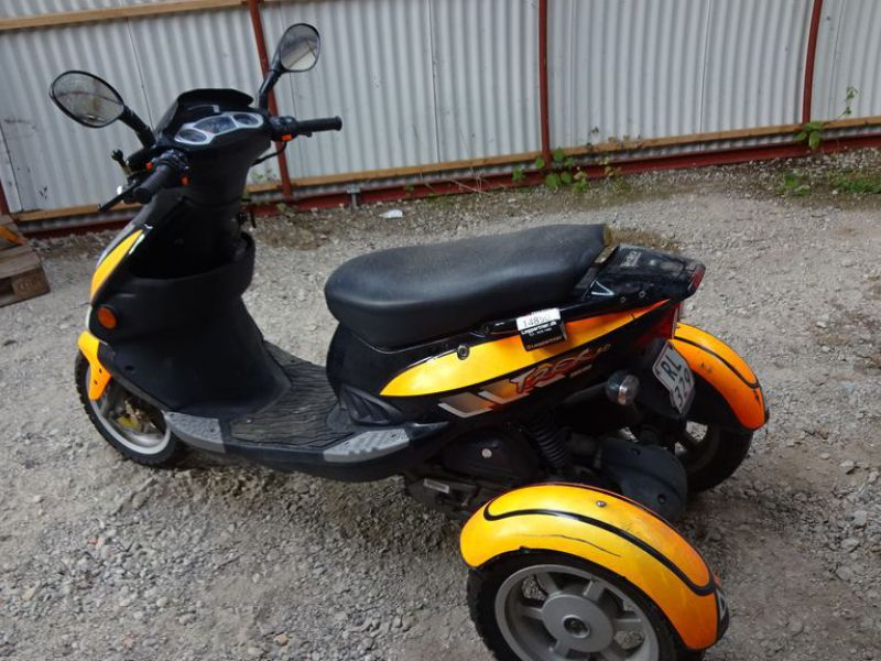 PGO 3-hjulet knallert 45 km / 3-wheel moped 45 km. - 3