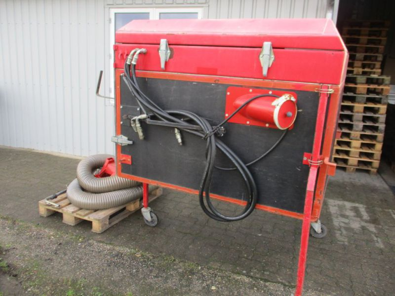 Løvsuger HTF med beholder, slange og sugestudse / leaf collector with container, hose and suction nozzle - 0