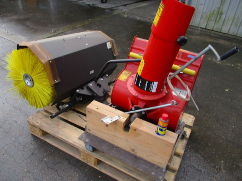 Kost 80 cm og Sneslynge / sweeper and snowblower - 0