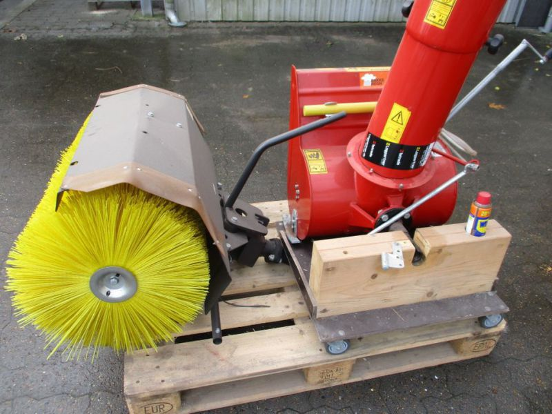 Kost 80 cm og Sneslynge / sweeper and snowblower - 1