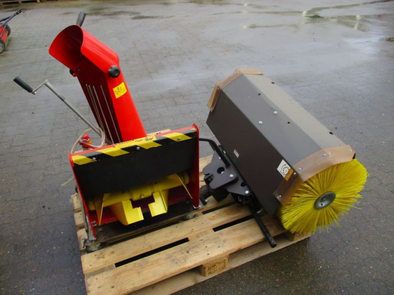 Kost 80 cm og Sneslynge / sweeper and snowblower - 5
