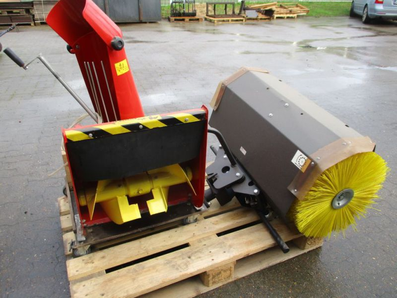 Kost 80 cm og Sneslynge / sweeper and snowblower - 6