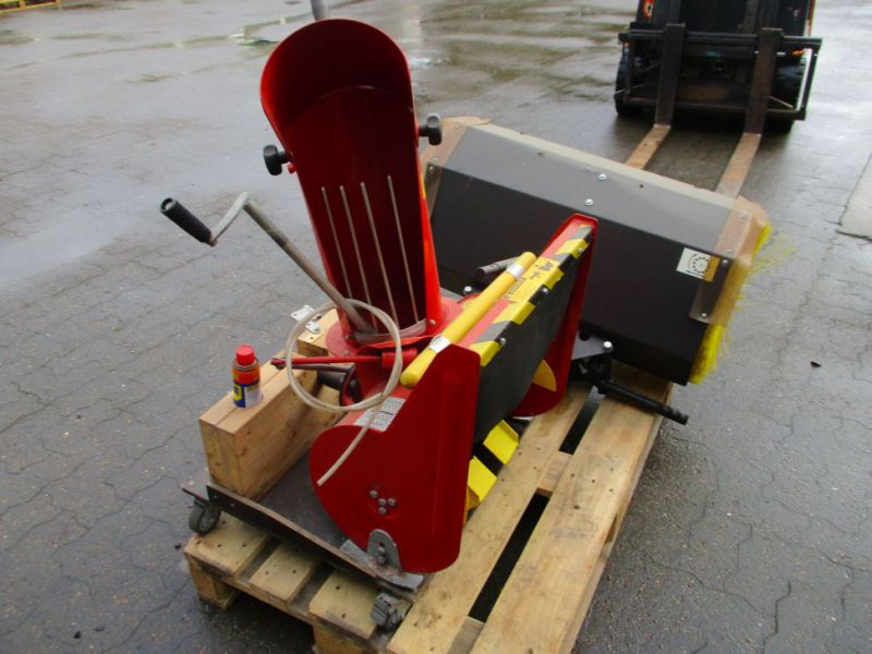 Kost 80 cm og Sneslynge / sweeper and snowblower - 7