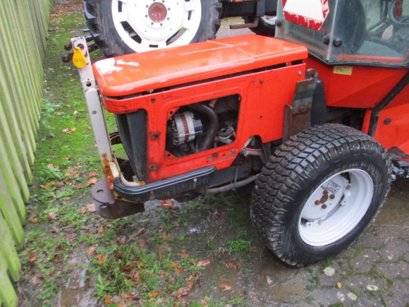 Carraro TIGER TRAC 3800 med sneskraber / with snow scraber - 5