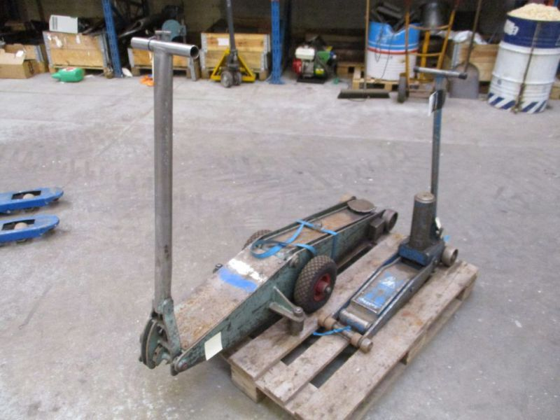 Donkrafte 2 stk 3 tons og 4 tons / Jacks 2 pieces 3 tons and 4 tons - 1