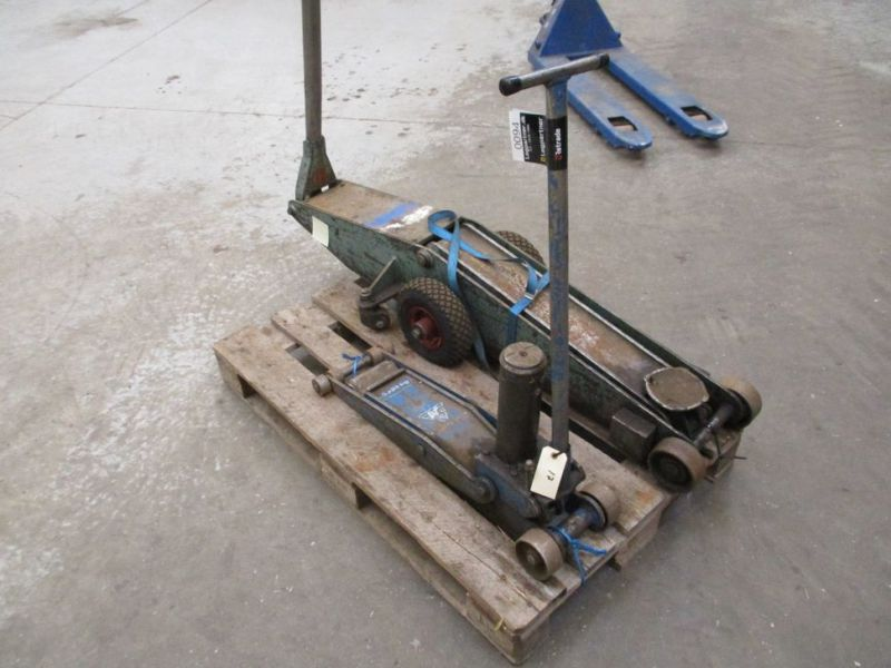 Donkrafte 2 stk 3 tons og 4 tons / Jacks 2 pieces 3 tons and 4 tons - 7