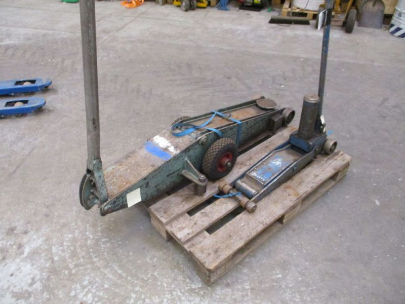 Donkrafte 2 stk 3 tons og 4 tons / Jacks 2 pieces 3 tons and 4 tons - 9