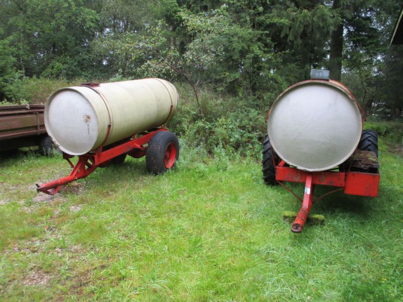 Vandvogne med glasfibertanke./ Water trailers with fiberglass tanks - 2