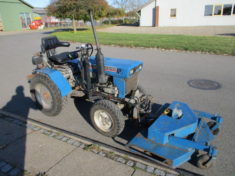 Iseki TX 1510 4 WD med front rotorklipper / Tractor with mower - 2