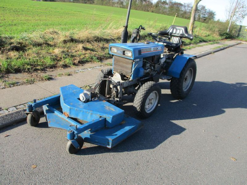 Iseki TX 1510 4 WD med front rotorklipper / Tractor with mower - 4