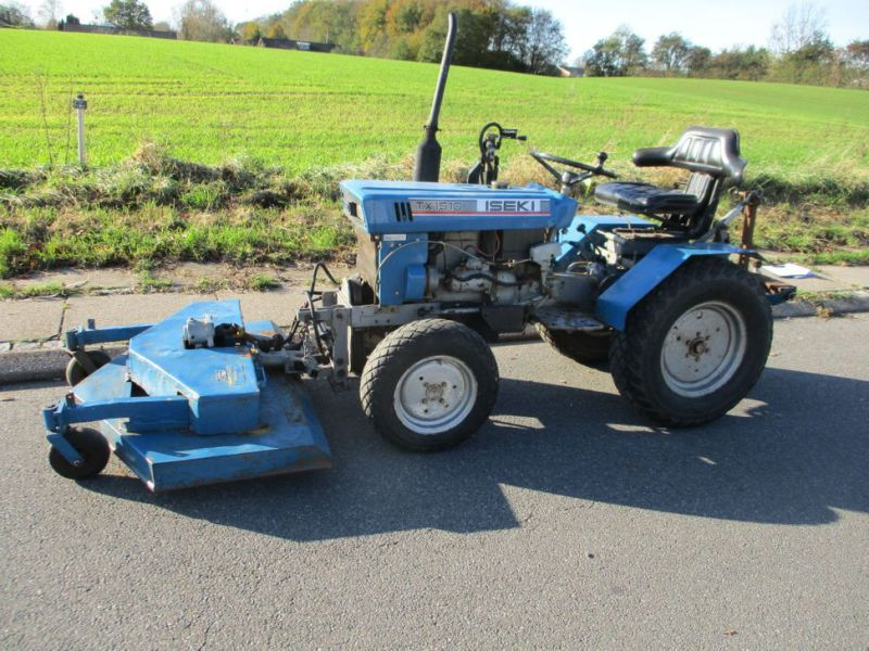 Iseki TX 1510 4 WD med front rotorklipper / Tractor with mower - 5