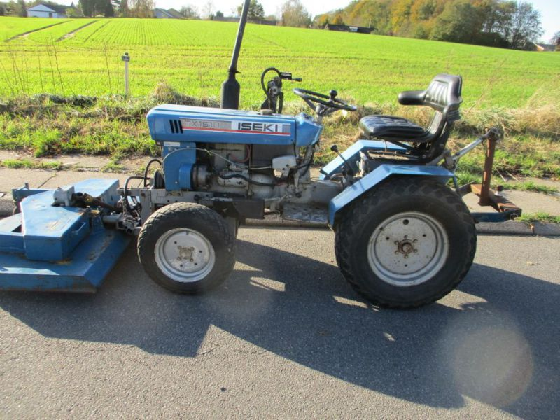 Iseki TX 1510 4 WD med front rotorklipper / Tractor with mower - 6