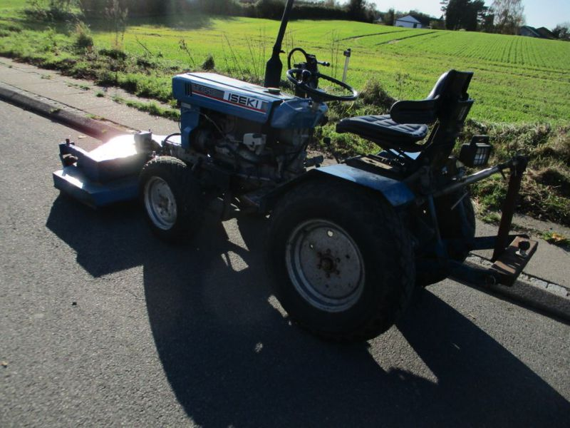 Iseki TX 1510 4 WD med front rotorklipper / Tractor with mower - 7