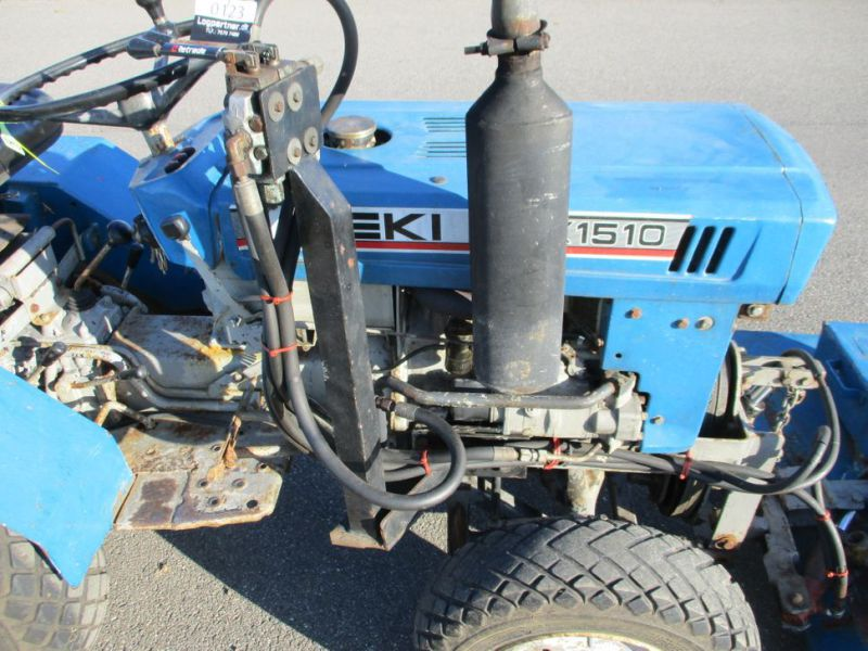 Iseki TX 1510 4 WD med front rotorklipper / Tractor with mower - 24
