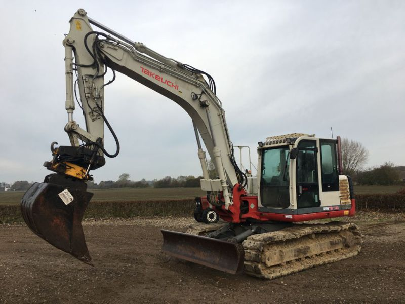Takeuchi TB 1140 med Rotortilt / with Rotor Tilt - 0