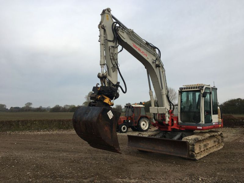 Takeuchi TB 1140 med Rotortilt / with Rotor Tilt - 1