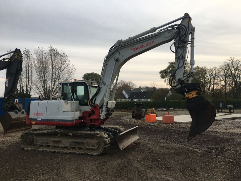 Takeuchi TB 1140 med Rotortilt / with Rotor Tilt - 4
