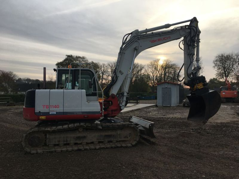 Takeuchi TB 1140 med Rotortilt / with Rotor Tilt - 5