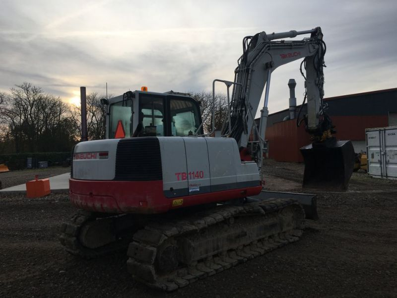 Takeuchi TB 1140 med Rotortilt / with Rotor Tilt - 6