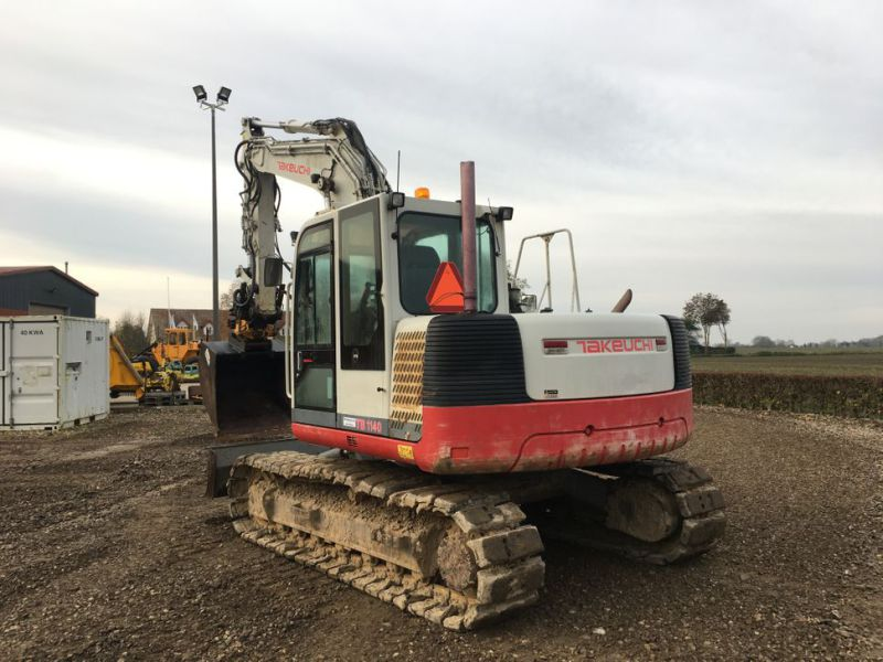 Takeuchi TB 1140 med Rotortilt / with Rotor Tilt - 8
