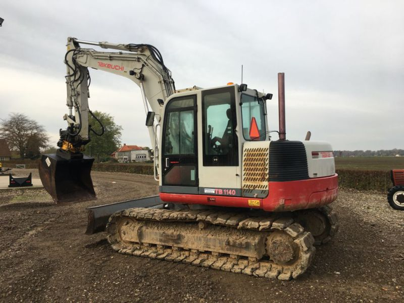 Takeuchi TB 1140 med Rotortilt / with Rotor Tilt - 9