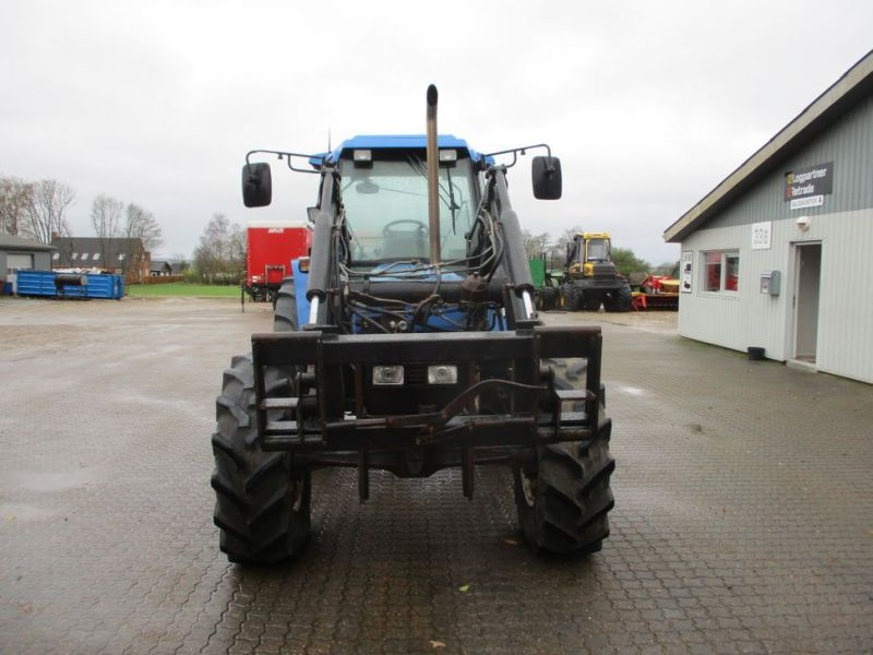 New Holland 7840 SLE turbo Powerstar traktor med frontlæsser / tractor with front loader - 6