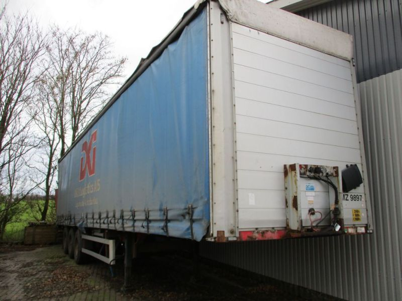 Presserings trailer med lift / trailer with lift  - 0
