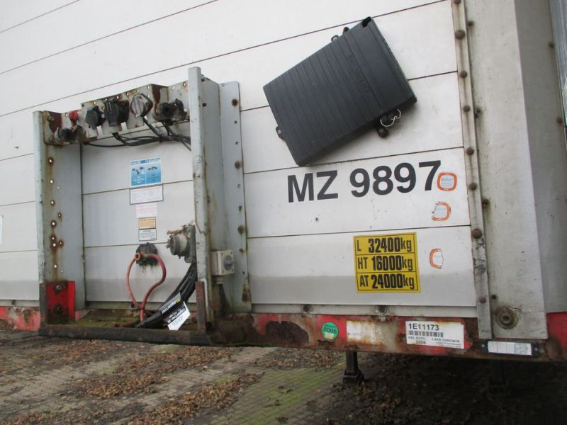 Presserings trailer med lift / trailer with lift  - 2