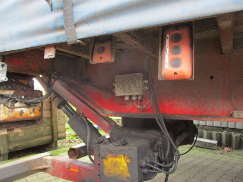 Presserings trailer med lift / trailer with lift  - 16