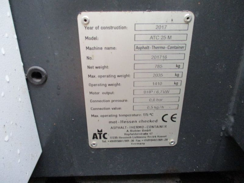 Termocontainer til asfalt / Asphalt thermocontainer - 6