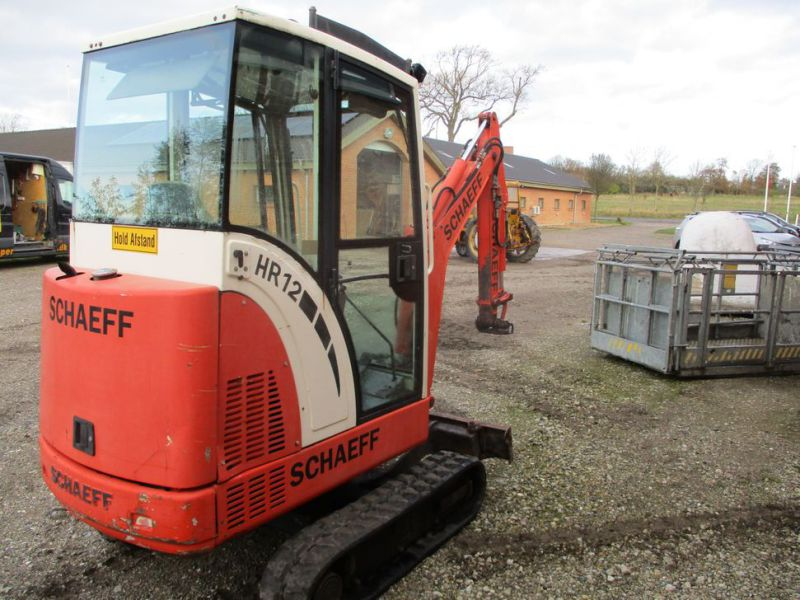 SCHAEFF HR-12 Minigraver med 3 skovle / Mini digger with 3 buckets - 3