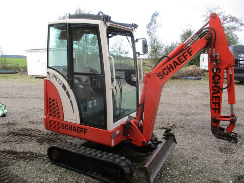 SCHAEFF HR-12 Minigraver med 3 skovle / Mini digger with 3 buckets - 4