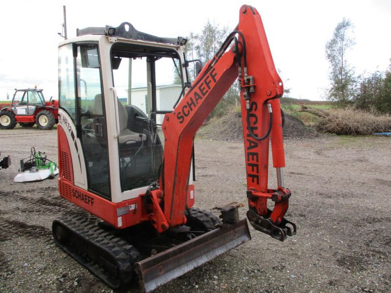 SCHAEFF HR-12 Minigraver med 3 skovle / Mini digger with 3 buckets - 5