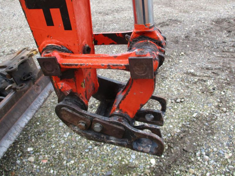 SCHAEFF HR-12 Minigraver med 3 skovle / Mini digger with 3 buckets - 6