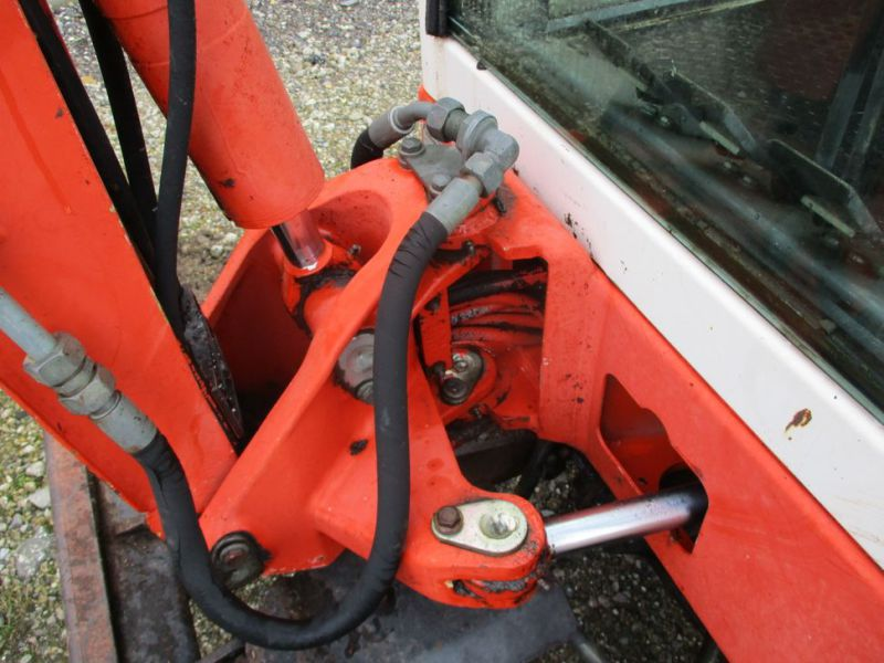 SCHAEFF HR-12 Minigraver med 3 skovle / Mini digger with 3 buckets - 12