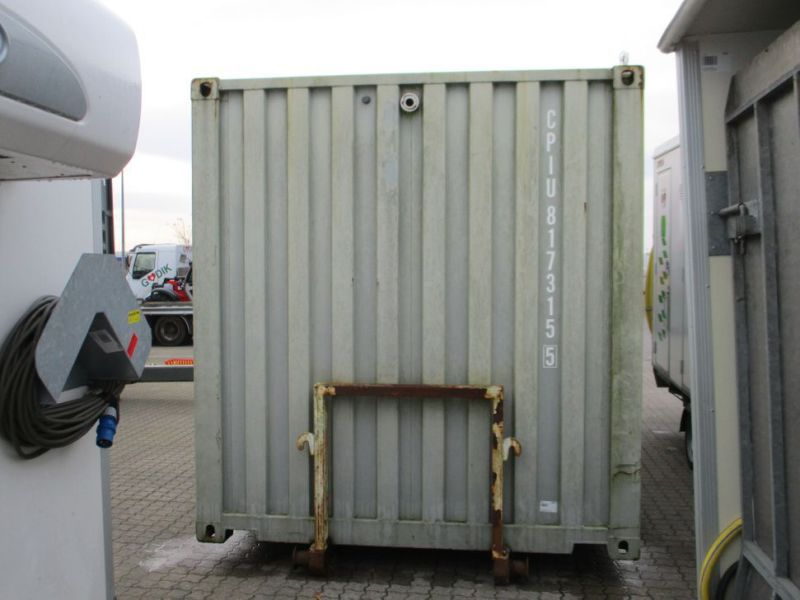 Fyrværkeri Container 20 fod Rulle/Wirehejs. / container with wire hoist - 2