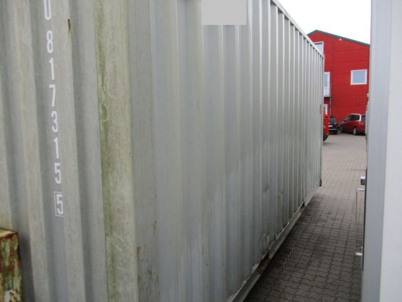 Fyrværkeri Container 20 fod Rulle/Wirehejs. / container with wire hoist - 4