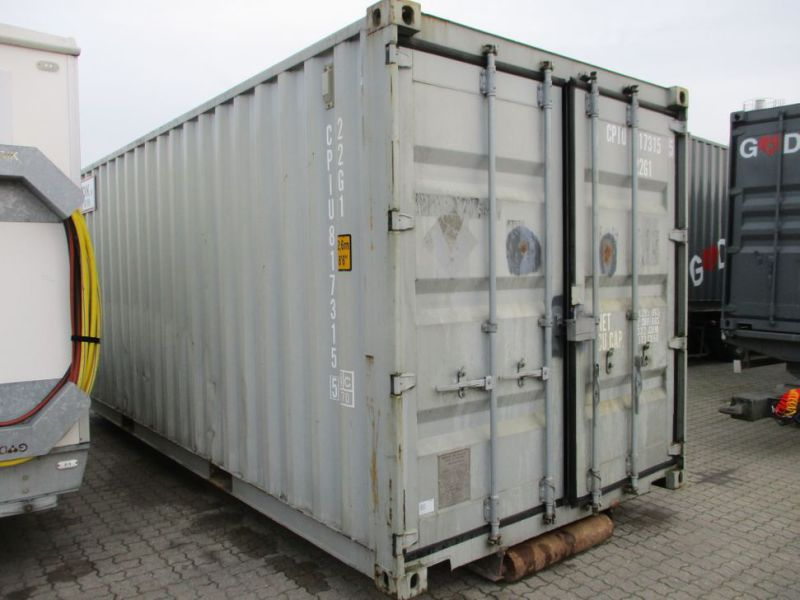 Fyrværkeri Container 20 fod Rulle/Wirehejs. / container with wire hoist - 5
