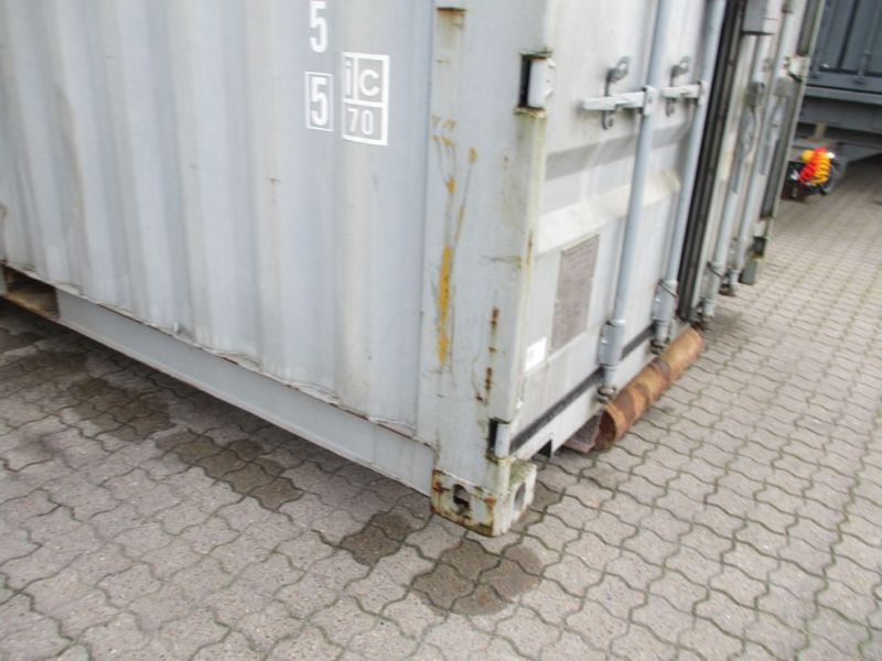 Fyrværkeri Container 20 fod Rulle/Wirehejs. / container with wire hoist - 7