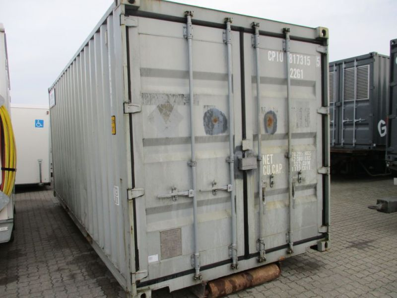Fyrværkeri Container 20 fod Rulle/Wirehejs. / container with wire hoist - 9