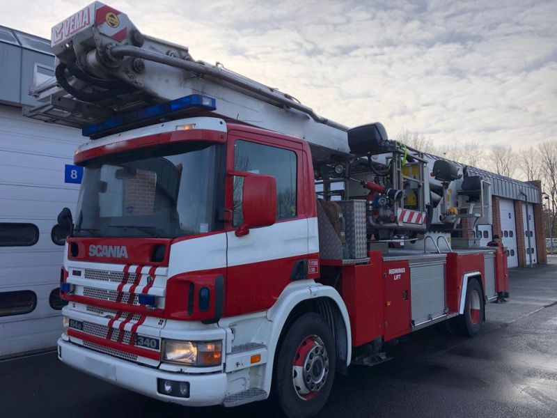 Scania Stigevogn / Firefighting Vehicle - 8