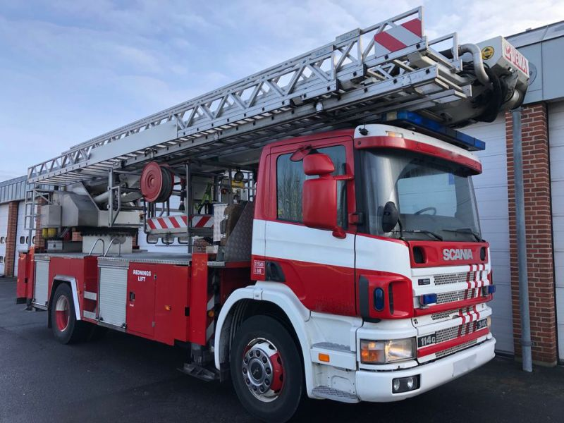 Scania Stigevogn / Firefighting Vehicle - 23