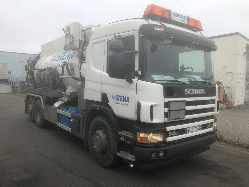 Scania Sugbil/Suction truck - 0