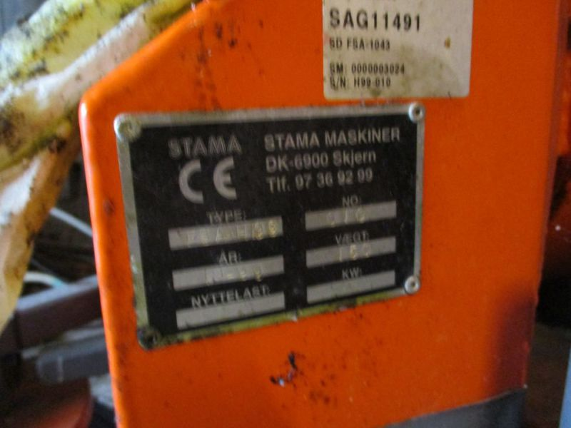 Stama FSA-H99 Feje/suge Anlæg (HOLDER) / Sweeper / Suction System - 9
