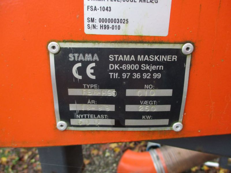 Stama FSA-H99 Feje/suge Anlæg (HOLDER) / Sweeper / Suction System - 25