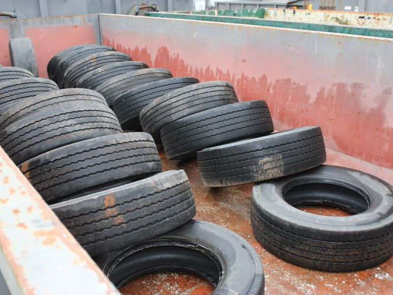 22 st Beg Däck 265/70-19,5 / Used tires - 1