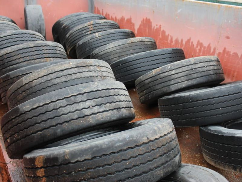 22 st Beg Däck 265/70-19,5 / Used tires - 2